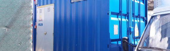 Cabina di trasformazione in container – Carpi